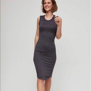 Aritzia   Wilfred Free Bruni Dress Black Size S